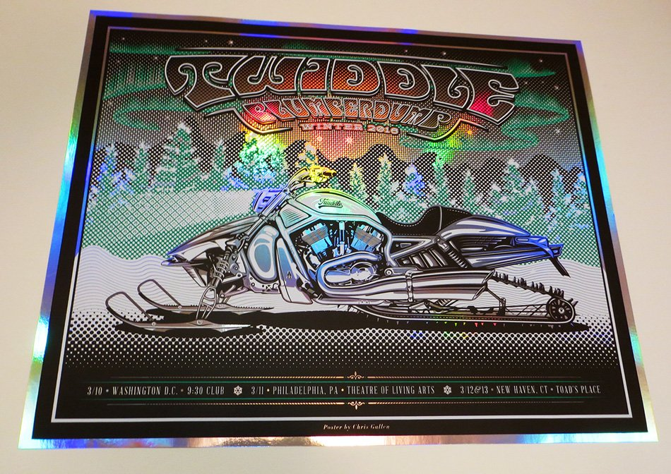 TWIDDLE GIG POSTER