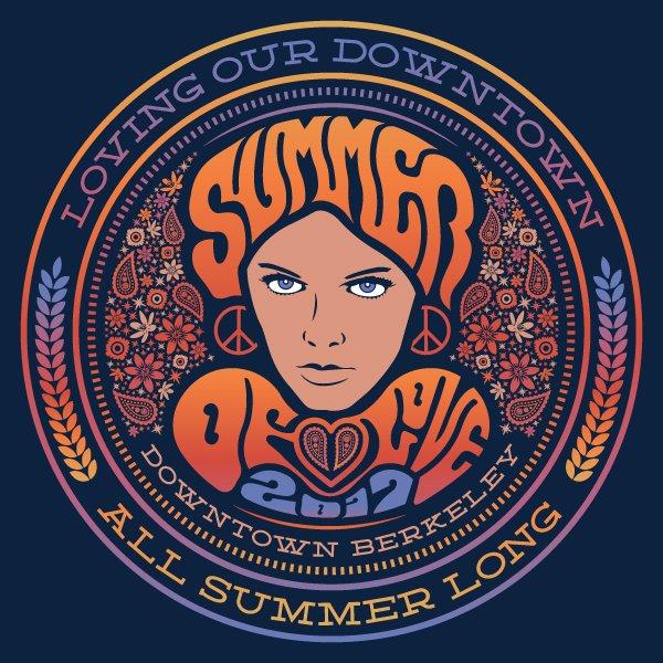 DOWNTOWN BERKELEY SUMMER OF LOVE