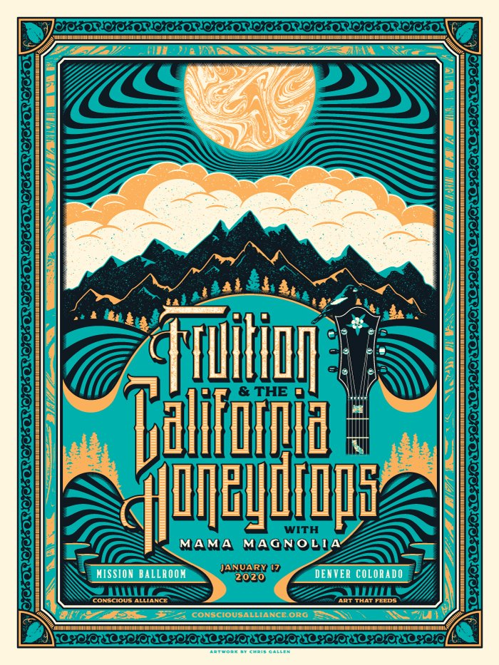 FRUITION/CALIFORNIA HONEYDROPS - CONSCIOUS ALLIANCE