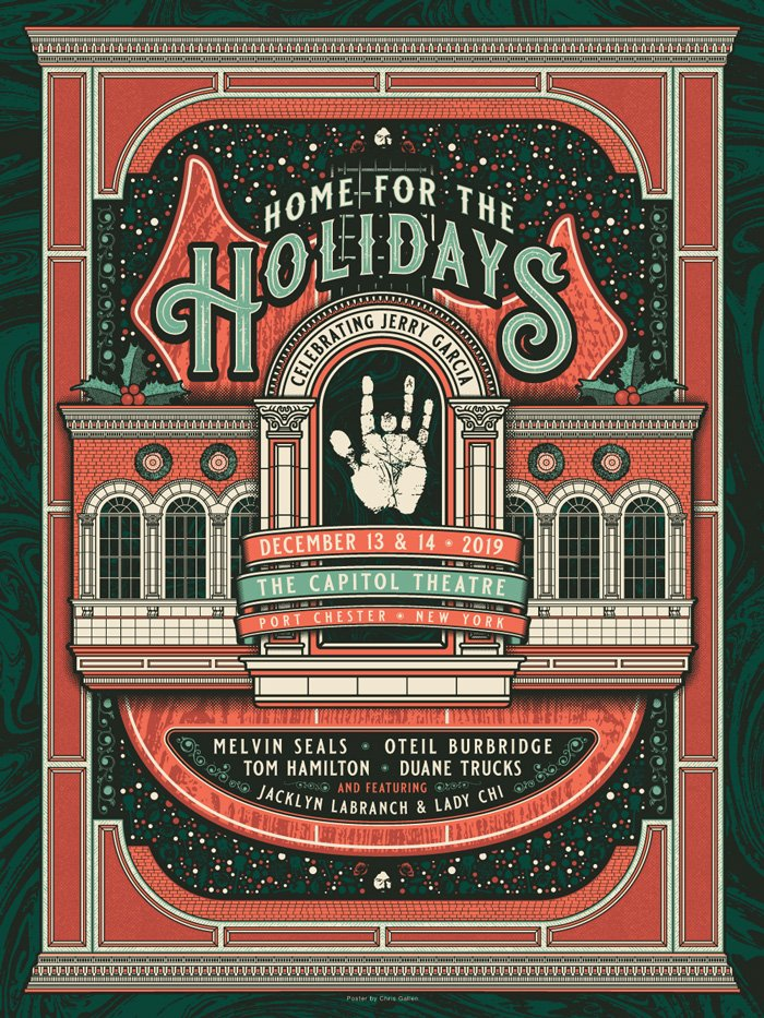 HOME FOR THE HOLIDAYS - CELEBRATING JERRY GARCIA