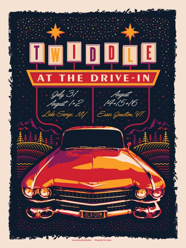 TWIDDLE AT THE DRIVE-IN 2020