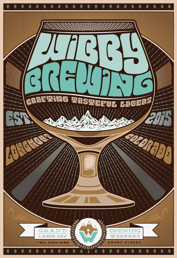 WIBBY BREWING POSTER