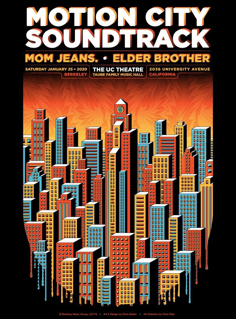 MOTION CITY SOUNDTRACK - 1/25/20 POSTER