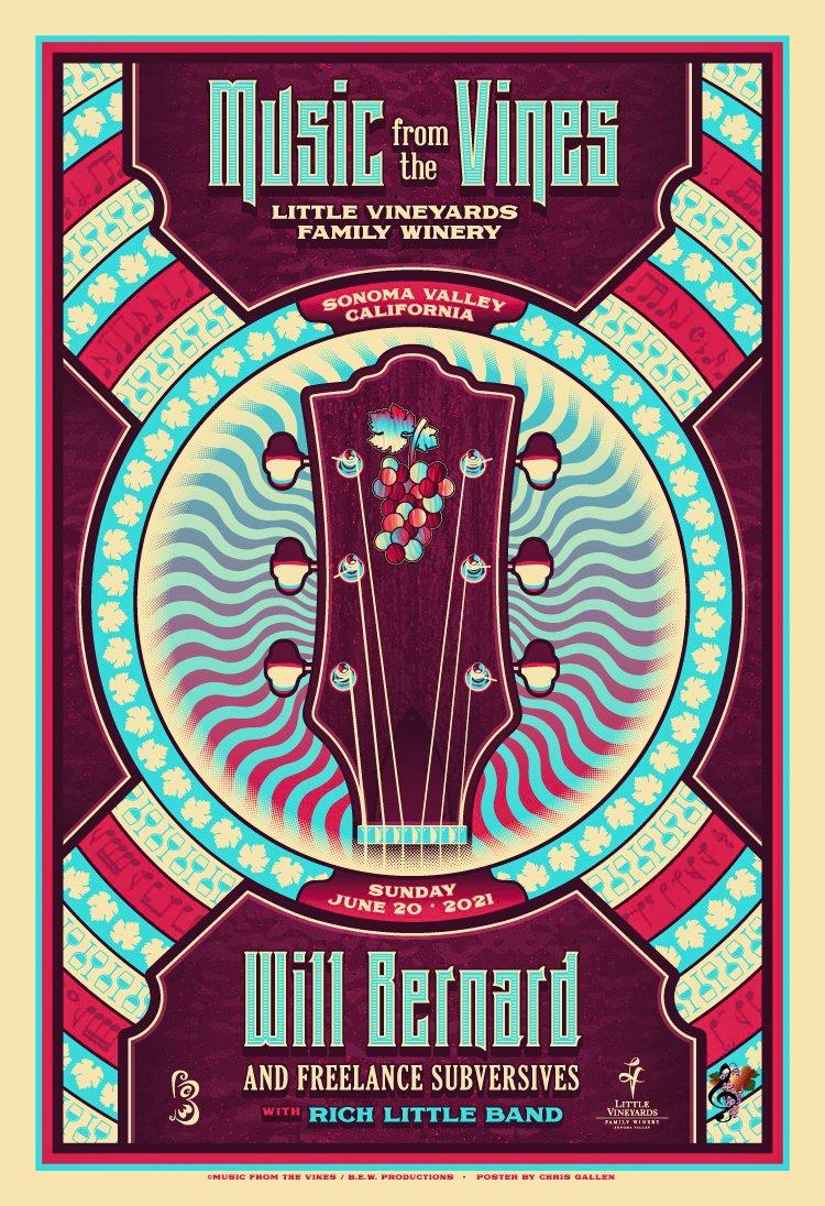 MUSIC FROM THE VINES - WILL BERNARD