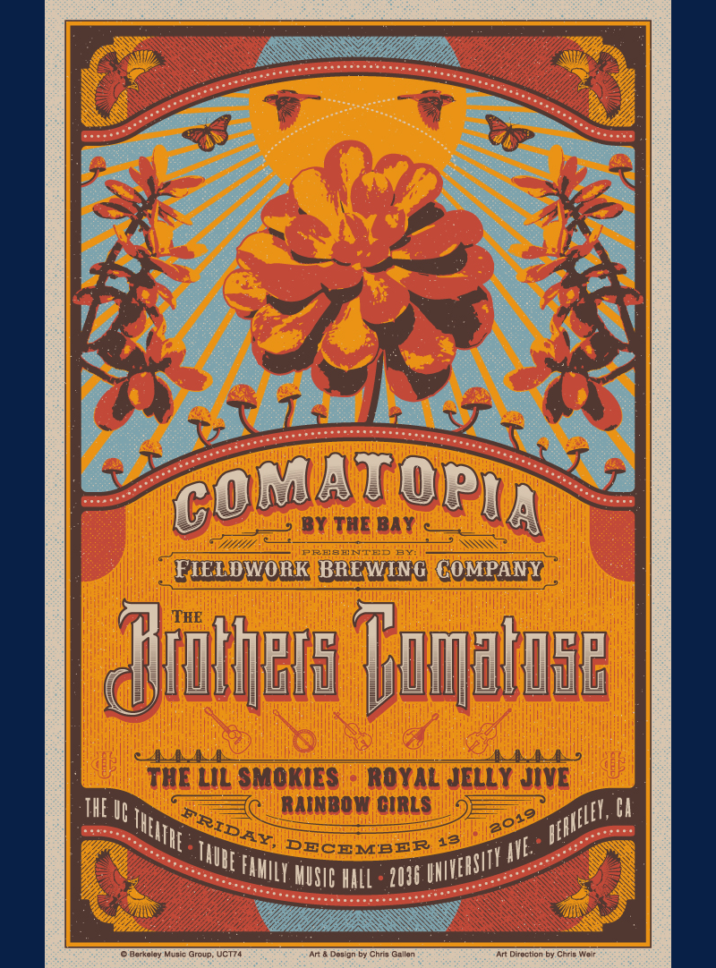 THE BROTHERS COMATOSE UC THEATRE POSTER